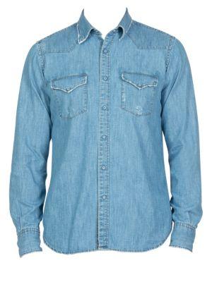 Camica Texas Western Button-Down Shirt