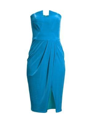 Jolie Strapless Sheath Dress