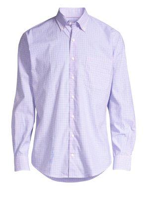 Sullivan Mini Check Print Shirt