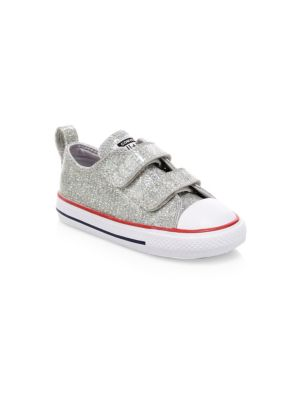 Baby Girl's Chuck Taylor All Star Ox Glitter Sneakers