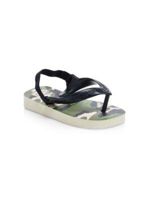 Baby's Camo Sandals