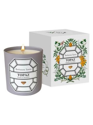 Topaz Month Of November Scented Candle