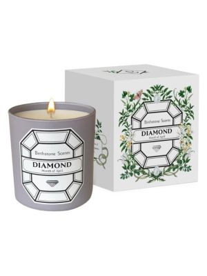 Diamond Month Of April Scented Candle