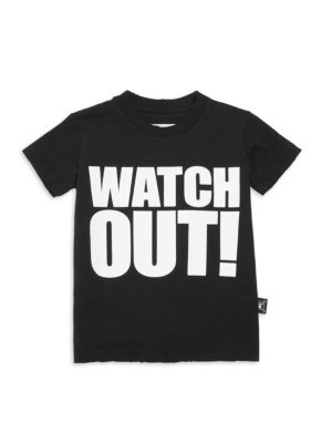 Little Boy's & Boy's Watch Out Cotton Tee