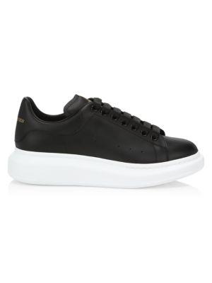 Men's Oversized Leather Platform Sneakers