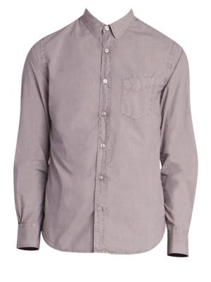 Lipp-Stitched Button-Down Shirt