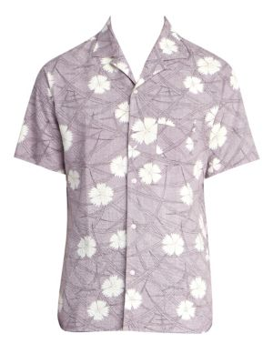 Dario Short Sleeve Seersucker Shirt