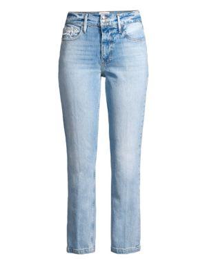 Le Sylvie Slender Straight-Leg Jeans