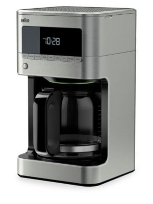 BrewSense 12-Cup Drip Coffee Maker with Glass Carafe