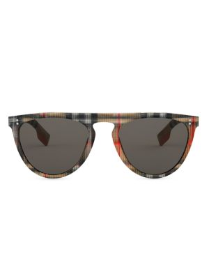 54MM Keyhole D-Shape Sunglasses