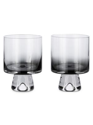 Tank Two-Piece Low Ball Glasses Set