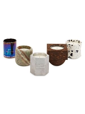 Materialism Candle Five-Piece Gift Set