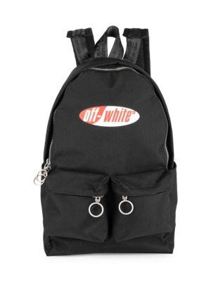 OFF-WHITE | Split Logo Backpack | Goxip