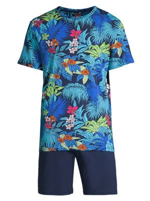 Maitai Cotton Sleepwear Tee & Shorts Set
