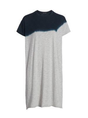 Dip-Dyed T-Shirt Dress