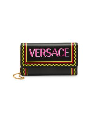 Vitello Stamp Logo Clutch