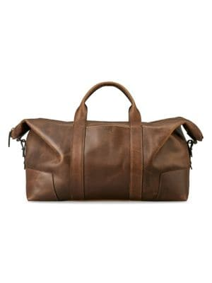 Large Leather Caryall