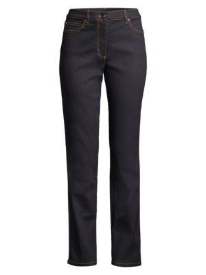 ESCADA   Five-Pocket Stretch-Cotton Jeans   Goxip