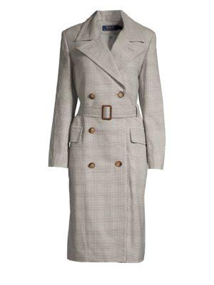 Cotton-Wool Coat in Multi