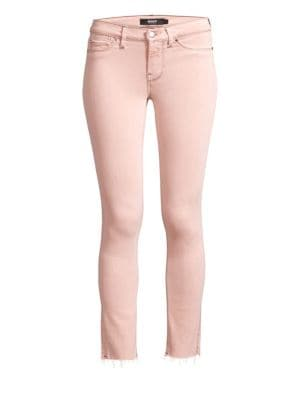Tally Mid-Rise Cropped Skinny Jeans