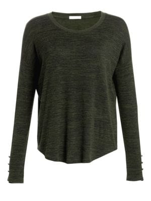 Hudson Marled Long Sleeve Top