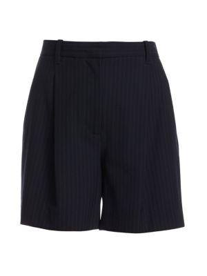 Pinstripe Walking Shorts