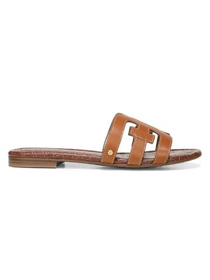 Bay Flat Leather Sandals
