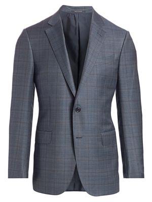 Plaid Wool Jacket