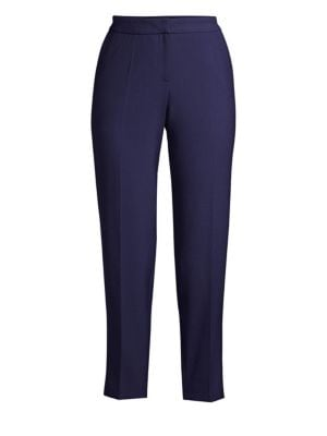 HUGO BOSS | Cropped Stretch Pants | Goxip