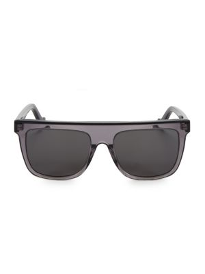 55MM Rectangular Sunglasses