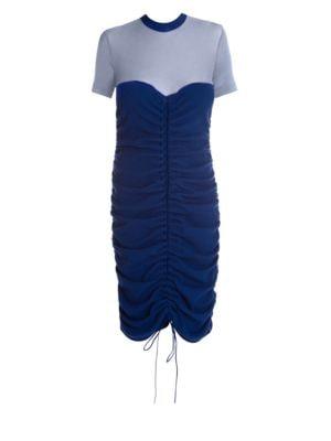Elacot Lace-Front Hybrid Dress