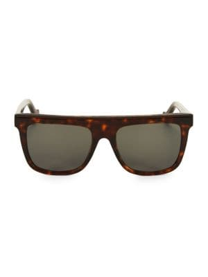 LW40015U 55MM Rectangular Sunglasses