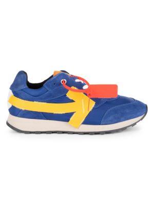 Arrow Suede Running Sneakers