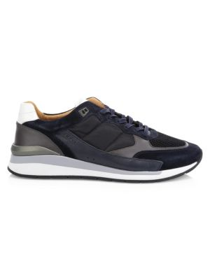 HUGO BOSS | Element Patchwork Sneakers | Goxip