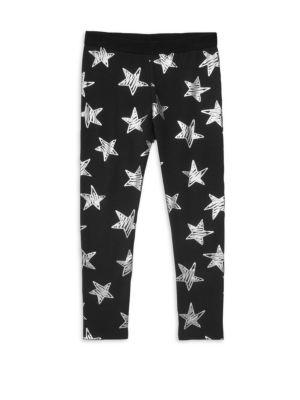 Little Girl's & Girl's Star Leggings