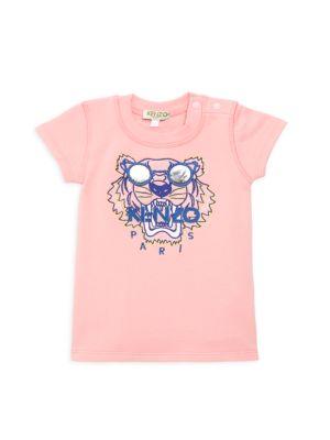 Baby Girl's Summer Tiger Fleece Dress