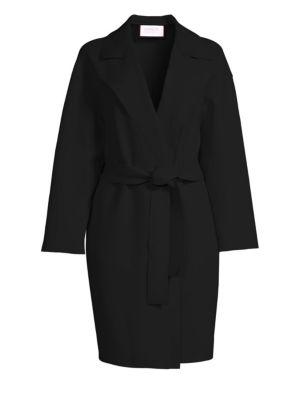 Dropped Shoulder Belted Coat