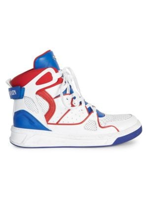 Keith Leather High-Top Sneakers