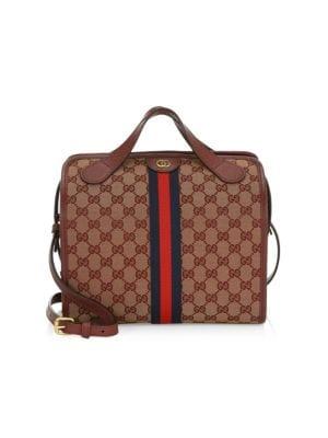 Mini Ophidia GG Duffle Tote Bag