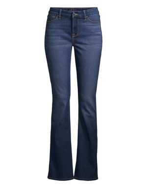 Mid-Rise Slim-Fit Bootcut Jeans