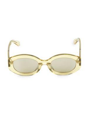 49MM Bishop Oval Sunglasses