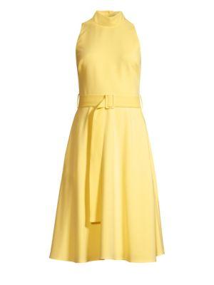 Lylah Woven A-Line Dress