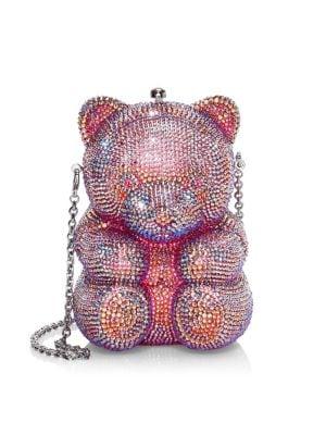 Gummy Teddy Bear Crystal Clutch