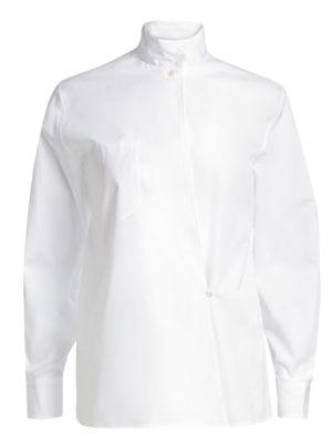 Corinna Kimono Wrap Shirt