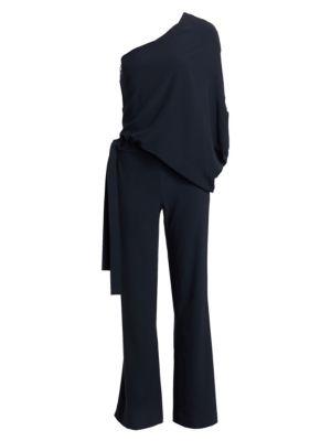 Asymmetric Wide-Leg Jumpsuit