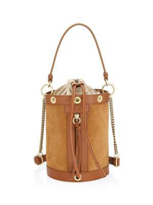 Debbie Suede Bucket Bag