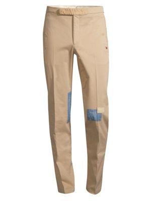 Slim-Fit Rip & Repair Trousers