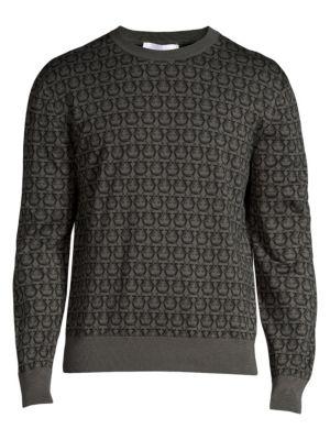 Gancini Crewneck Sweater