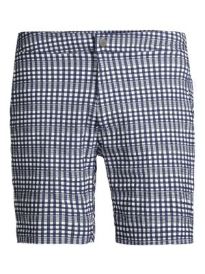 Calder Check Swim Trunks