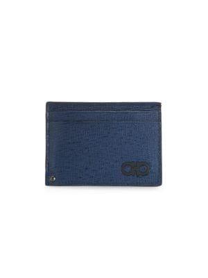 Revival Gancini Leather Card Case